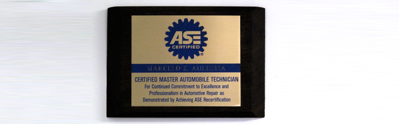 Ed's Automotive Center | ASE Certified